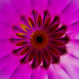 fondo colorido del fractal 3D Fotografía de archivo