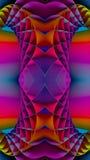 fondo colorido del fractal 3D Fotografía de archivo libre de regalías