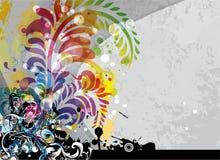 Fondo colorido del grunge libre illustration
