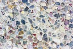 Fondo colorido del guijarro de piedra imagen de archivo