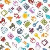 Fondo colorido del hogar del vector Foto de archivo libre de regalías