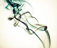 Fondo colorido del humo Imagen de archivo