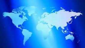 Fondo colorido del mapa del mundo