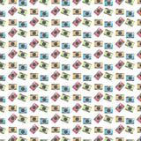 Fondo colorido del modelo de las cámaras Imagenes de archivo