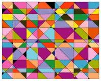 Fondo colorido del mosaico stock de ilustración