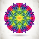 Fondo colorido del mosaico Imagenes de archivo