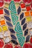 Fondo colorido del mosaico Fotografía de archivo