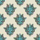 Fondo colorido del mosaico del vector Imagen de archivo libre de regalías