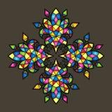 Fondo colorido del mosaico del vector Fotos de archivo