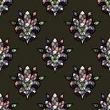 Fondo colorido del mosaico del vector Foto de archivo libre de regalías