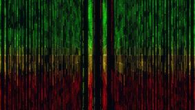 Fondo colorido del movimiento del lazo del estilo VJ de Gridlines Jamaica de la matriz ilustración del vector