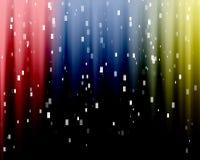 Fondo colorido del ordenador Imagen de archivo