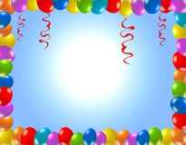 Fondo colorido del partido Imagen de archivo libre de regalías