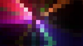 Fondo colorido del pixel del movimiento libre illustration
