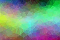 Fondo colorido del polígono Fotografía de archivo
