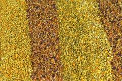 Fondo colorido del polen de la abeja Imágenes de archivo libres de regalías