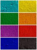 Fondo colorido del polvo Foto de archivo
