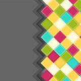 Fondo colorido del Rhombus Fotografía de archivo libre de regalías