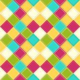 Fondo colorido del Rhombus Fotos de archivo