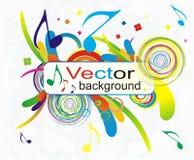 Fondo colorido del vector abstracto Imágenes de archivo libres de regalías