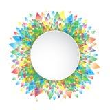 Fondo colorido geométrico Fotografía de archivo