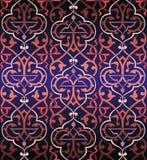Fondo colorido inconsútil del arabesque Imágenes de archivo libres de regalías