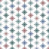 Fondo colorido inconsútil hecho de cristales ilustración del vector