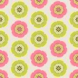 Fondo colorido inconsútil hecho de la Florida rosada y verde abstracta stock de ilustración