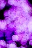 Fondo colorido tomado de luces de la Navidad Foto de archivo