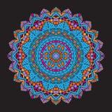 Fondo colourful astratto della mandala royalty illustrazione gratis