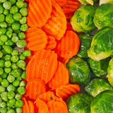 Verdure miste Immagine Stock