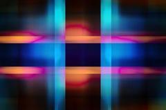 Fondo Colourful dei raggi luminosi Immagini Stock