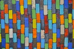 Fondo Colourful del blocco Fotografia Stock Libera da Diritti