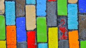 Fondo Colourful del blocco Immagine Stock