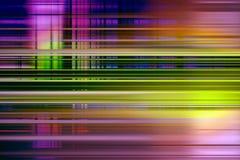 Fondo Colourful della sfuocatura di velocità Immagine Stock