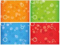 Fondo combinato colourful astratto Immagini Stock Libere da Diritti