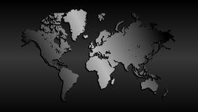 Fondo comercial de la tecnolog?a de la recopilaci?n de datos del comercio mundial del globo libre illustration