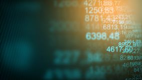 Fondo commerciale futuristico di Internet di Digital Fotografia Stock Libera da Diritti