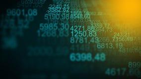Fondo commerciale futuristico di Internet di Digital Immagini Stock
