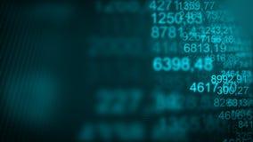 Fondo commerciale futuristico di Internet di Digital Immagine Stock