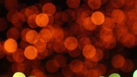 Fondo commovente del mazzo leggero delle lanterne video d archivio