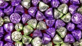 Fondo completo de los dulces del marco metrajes