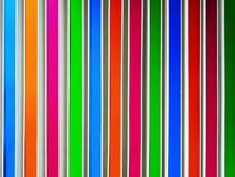Fondo completo del marco de la pared rayada colorida imagen de archivo