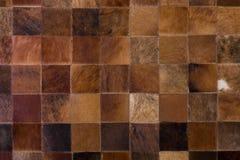 Fondo comprobado de la alfombra Fotografía de archivo libre de regalías