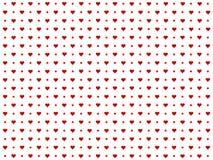 Fondo compuesto de corazones ilustración del vector