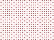 Fondo compuesto de corazones stock de ilustración