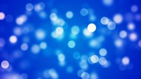 Fondo con bokeh blu piacevole fotografia stock libera da diritti