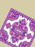 Fondo con el detalle de la alfombra Imágenes de archivo libres de regalías