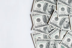 Fondo con el dinero Imagen de archivo libre de regalías