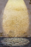 Fondo con el piso coloreado del pavimento de la pared y del guijarro Fotos de archivo libres de regalías